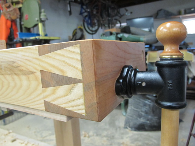 Detail of Large Dovetail