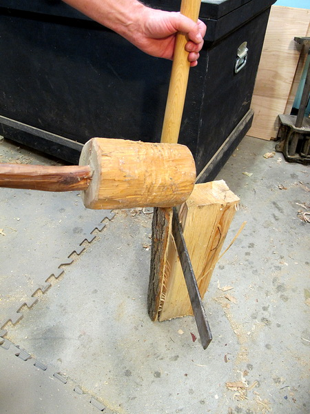 Part 8 - Making a Bench Mallet